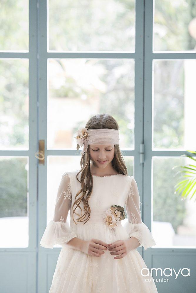 Vestidos de comunion amaya 2019